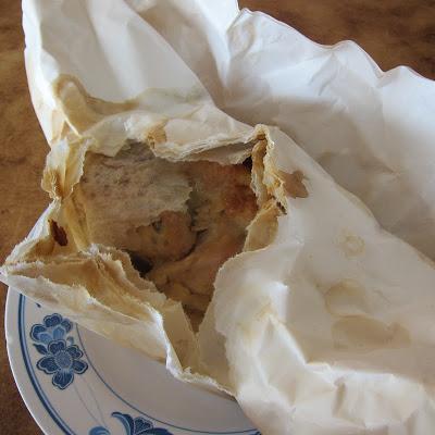 Paper Baked Chicken @ Teck Sing in Taman Sentosa in Johor Bahru