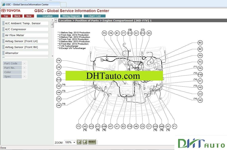 Toyota RAV4 Service Manual: Parts location