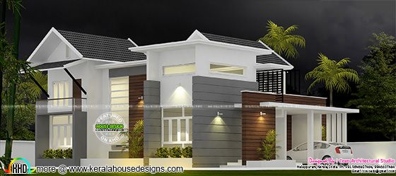 Fusion type house plan
