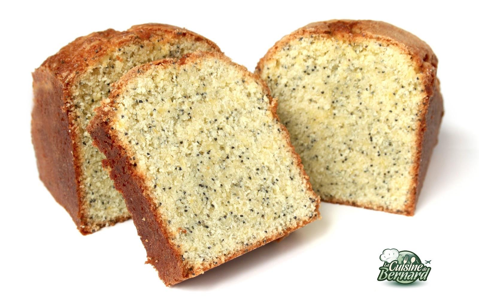La Cuisine de Bernard  Cake CitronPavot