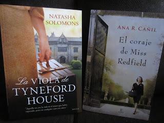 Libros La viola de Tyneford House y El coraje de Miss Redfield