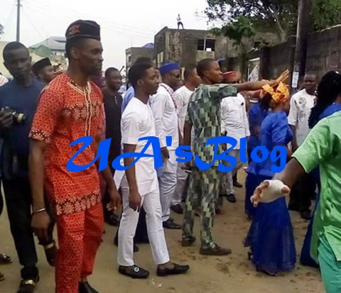 Rev. Edet Who Resigned As Catholic Priest In Akwa Ibom Marries His Wife In Traditional Ceremony (Photos)