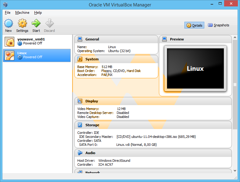 VirtualBox 4.3.20 Build 96996 with Extension Pack