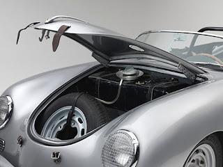 1958 Porsche 356 Speedster Convertible Gasoline Tank & Spare Tire