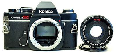 Konica Autoreflex TC, Konica Hexanon AR 40mm