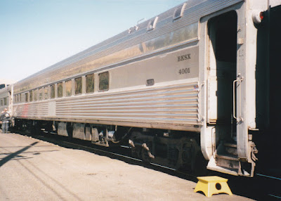 BKSX Coach #4001 in Wishram, Washington, on June 7, 1997