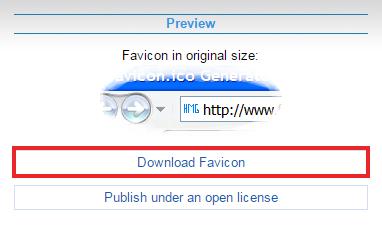 FAVICON DOWNLOAD KARNE KA OPTION