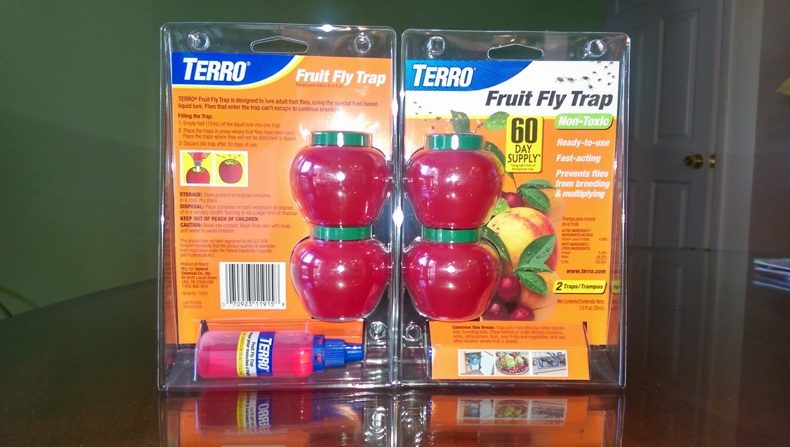 Paul's Daily Posts : Terro Fruit Fly Traps