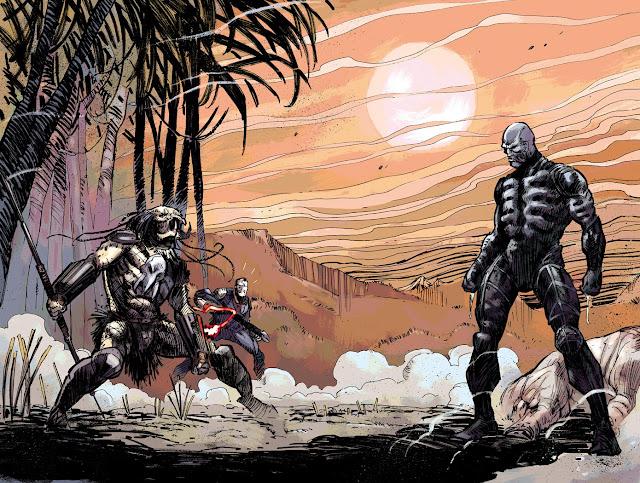 predator vs engineer comics