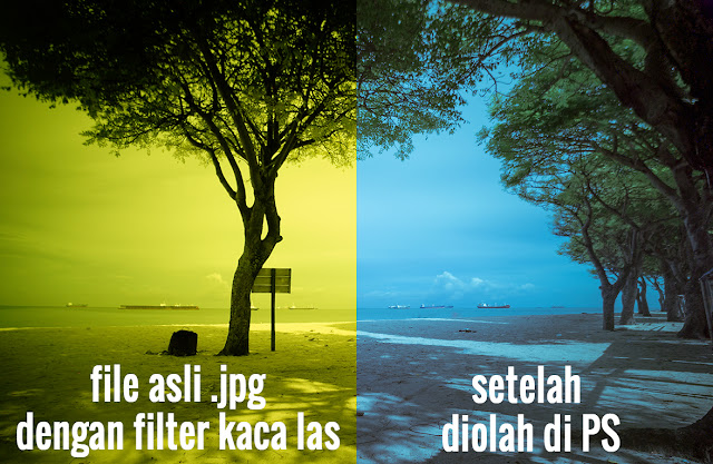 Foto Long Exposure Low Budget Menggunakan Kaca Las