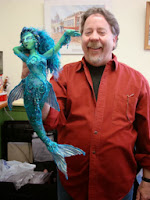 Arley Berryhill and his mermaid