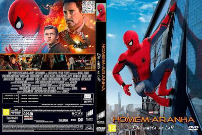 Filme Homem-Aranha - De Volta ao Lar (Spider-Man - Homecoming) DVD Capa