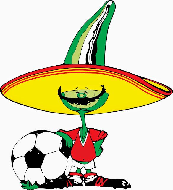 Pique Mascota del Mundial de Futbol año 1986 Mexico