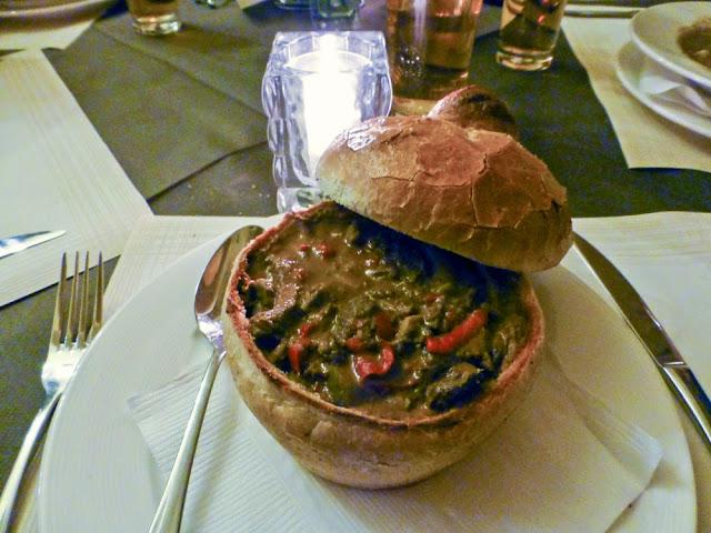 Strogonoff, Restaurante Awiw, Cracovia