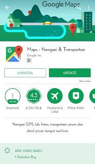Maps adalah layanan pemetaan web yang dikembangkan oleh Google. Layanan ini memberikan, peta jalan, citra satelit , kondisi lalu lintas, panorama 360°, dan perencanaan rute untuk bepergian dengan berjalan kaki, sepeda, mobil,  atau angkutan umum.