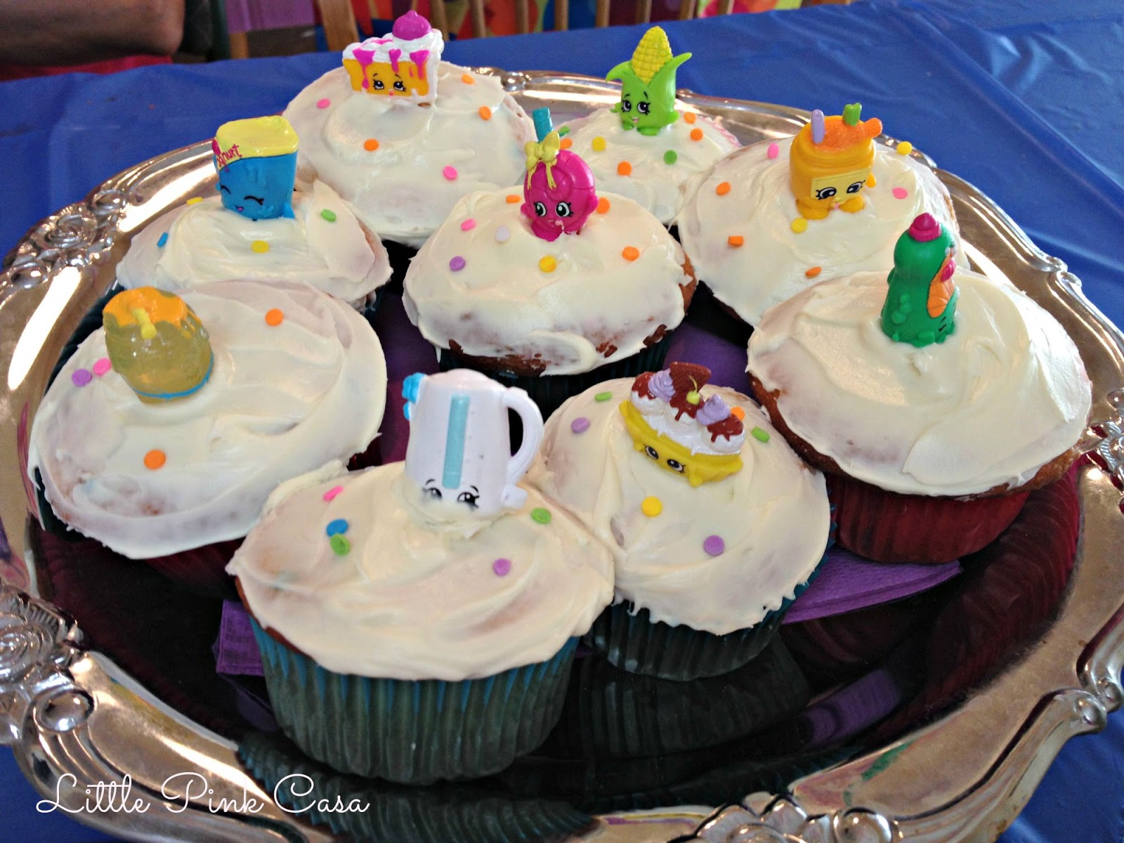 Little Pink Casa: Hadara's Shopkins Birthday Party On A