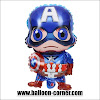 Balon Foil CAPTAIN AMERICA