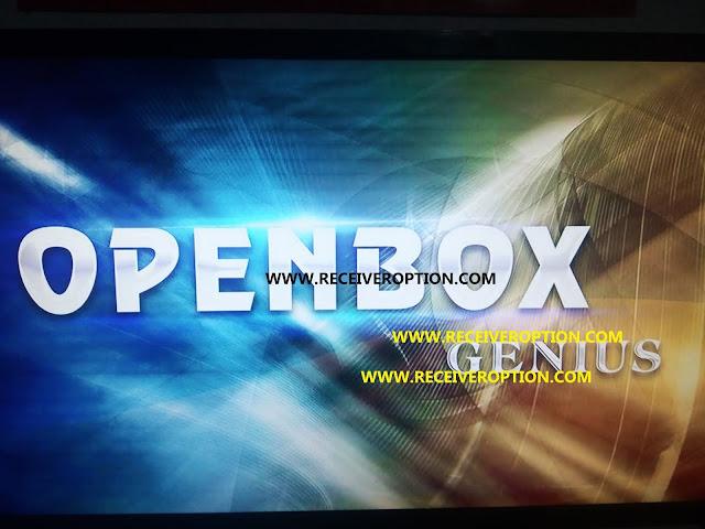 OPENBOX GENIUS HD RECEIVER POWERVU KEY NEW SOFTWARE BY USB