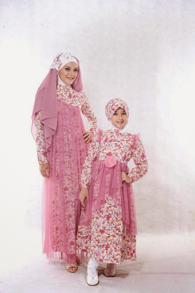 Gambar Model Baju Muslim Brokat Anak Perempuan Terbaru 2016