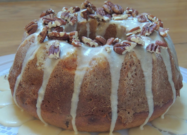 Gas Stove Girl: Apple Spice Bundt Cake with Brown Sugar Glaze