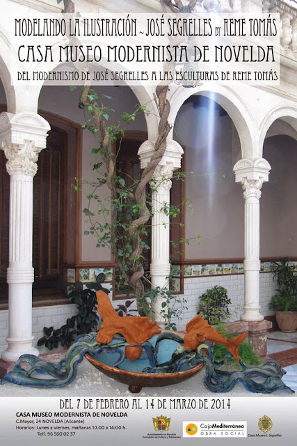 Del 7 de febrero al 14 de marzo en la CASA MUSEO MODERNISTA DE NOVELDA (Alicante)