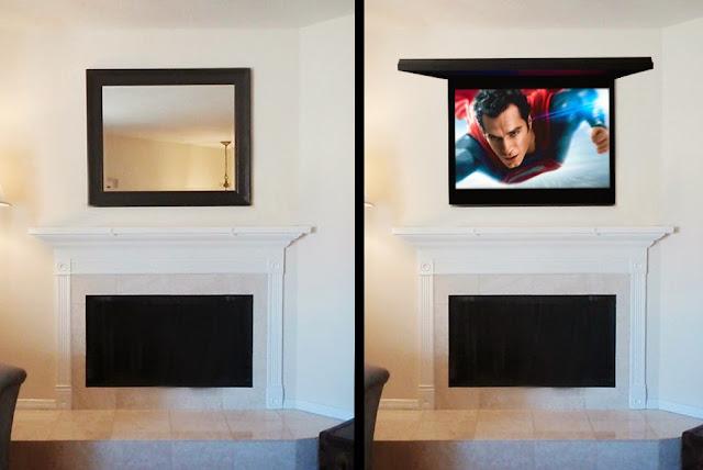 Hidden Tv Frames Art Mirror