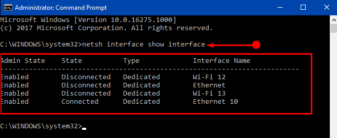 Methods to Turn off Ethernet Network Connection in Windows 10