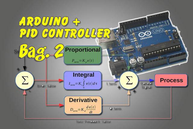Kontrol PID Arduino, cara mencari rumus fungsi alih atau transfer function