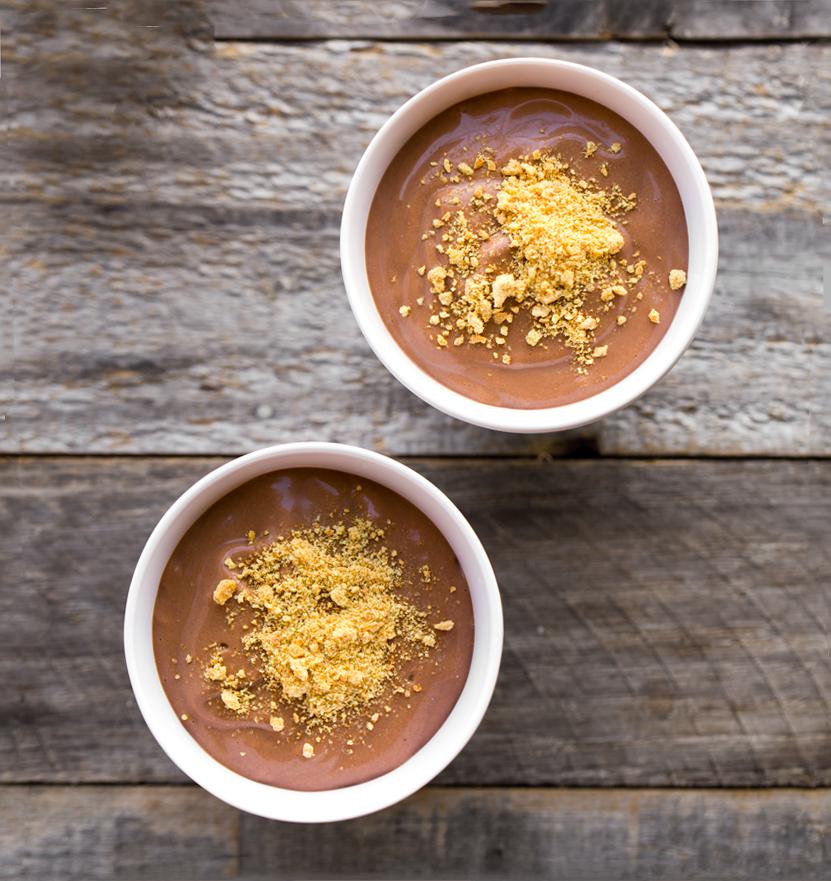 Vegan Chocolate Pudding (5-Ingredients!)