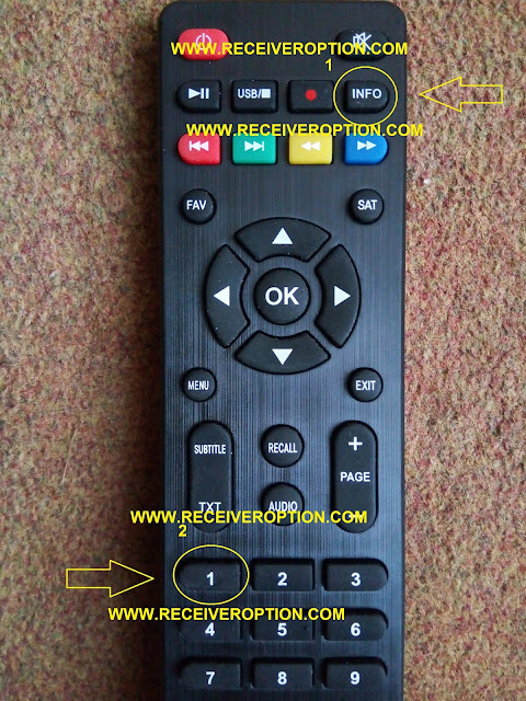STAR TRACK SRT 550 GOLD HD RECEIVER BISS KEY OPTION