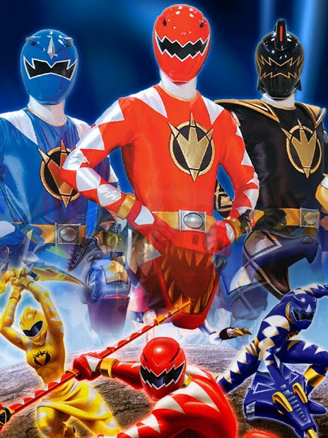 Power Rangers Dino Thunder Anime Poster