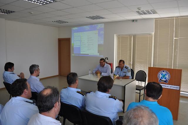 Ενημερωτική επίσκεψη ψυχολόγου της Ελληνικής Αστυνομίας στις αστυνομικές Υπηρεσίες σε Ναύπλιο και Κόρινθο