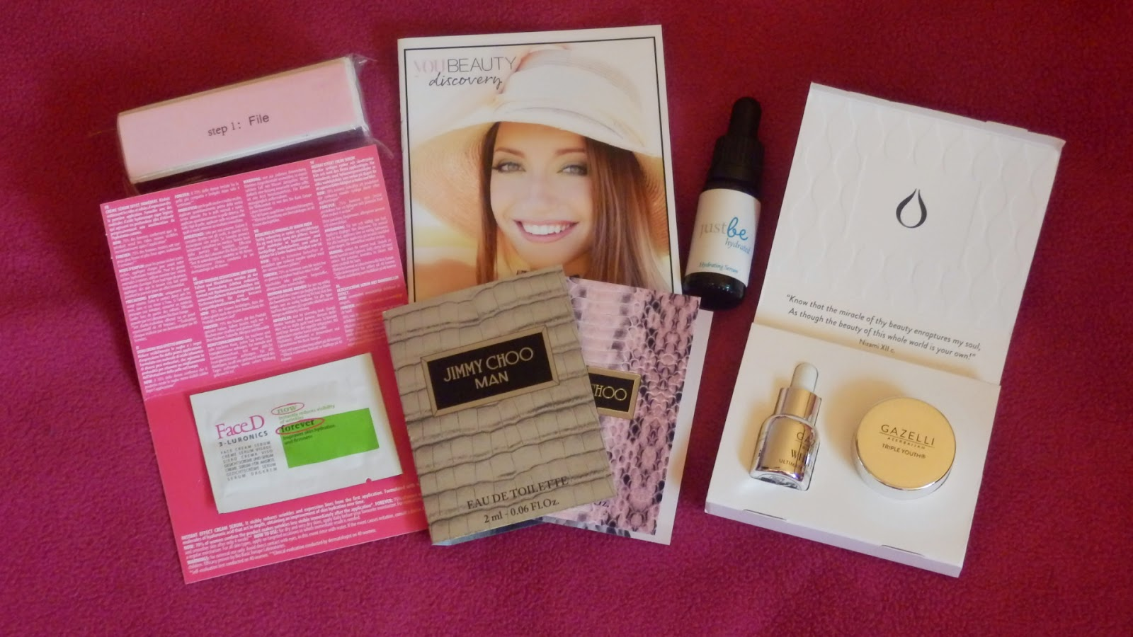 You Beauty Discovery Box Review - August 2014