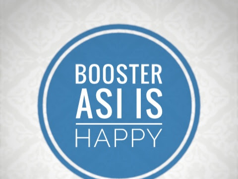 The real booster asi is HAPPY