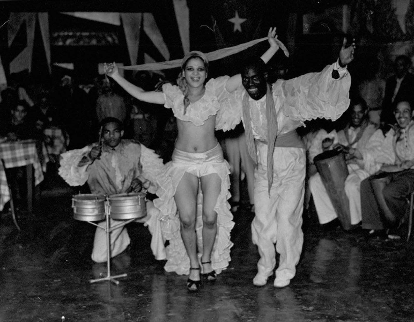 Dancing in Havana. 1937.