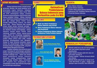 Seminar Nasional Pendidikan Bahasa Indonesia
