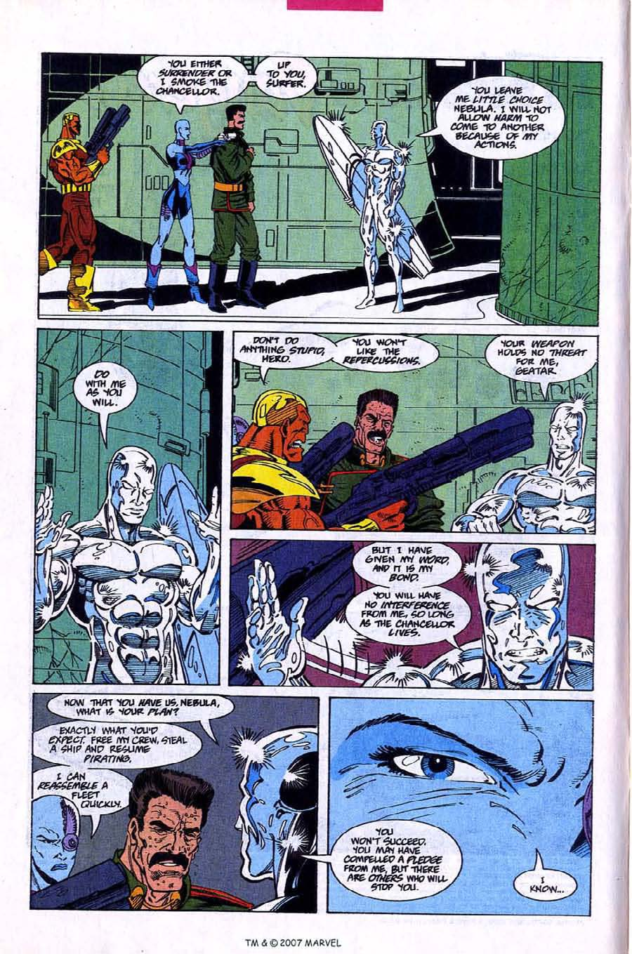 Read online Silver Surfer (1987) comic -  Issue #78 - 4