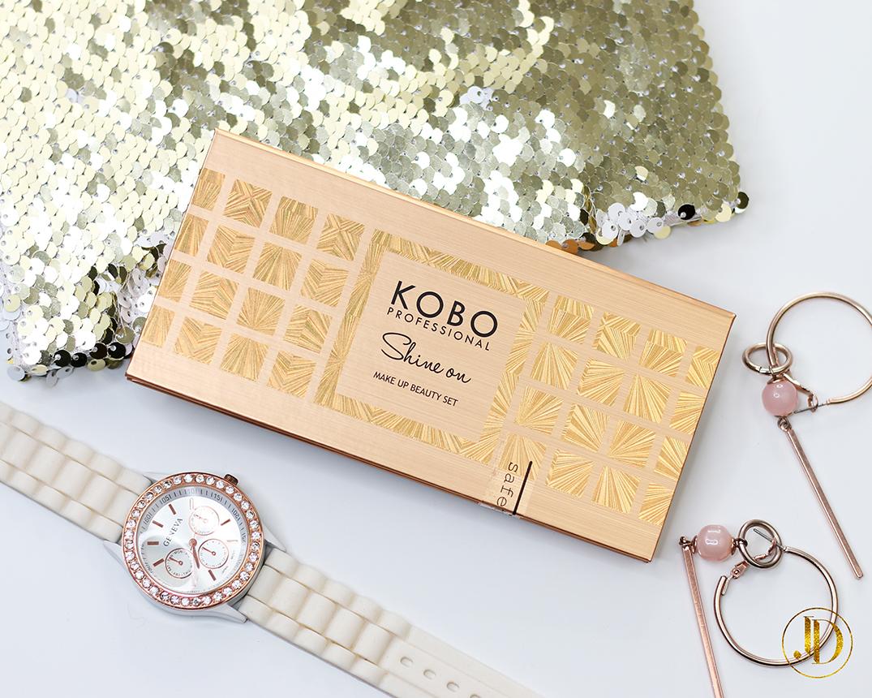 Shine On - cudna paleta od Kobo Professional - recenzja + makijaż.