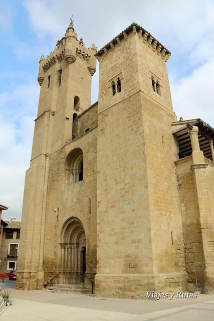 Iglesia de San Salvador, Ejea de los Caballeros
