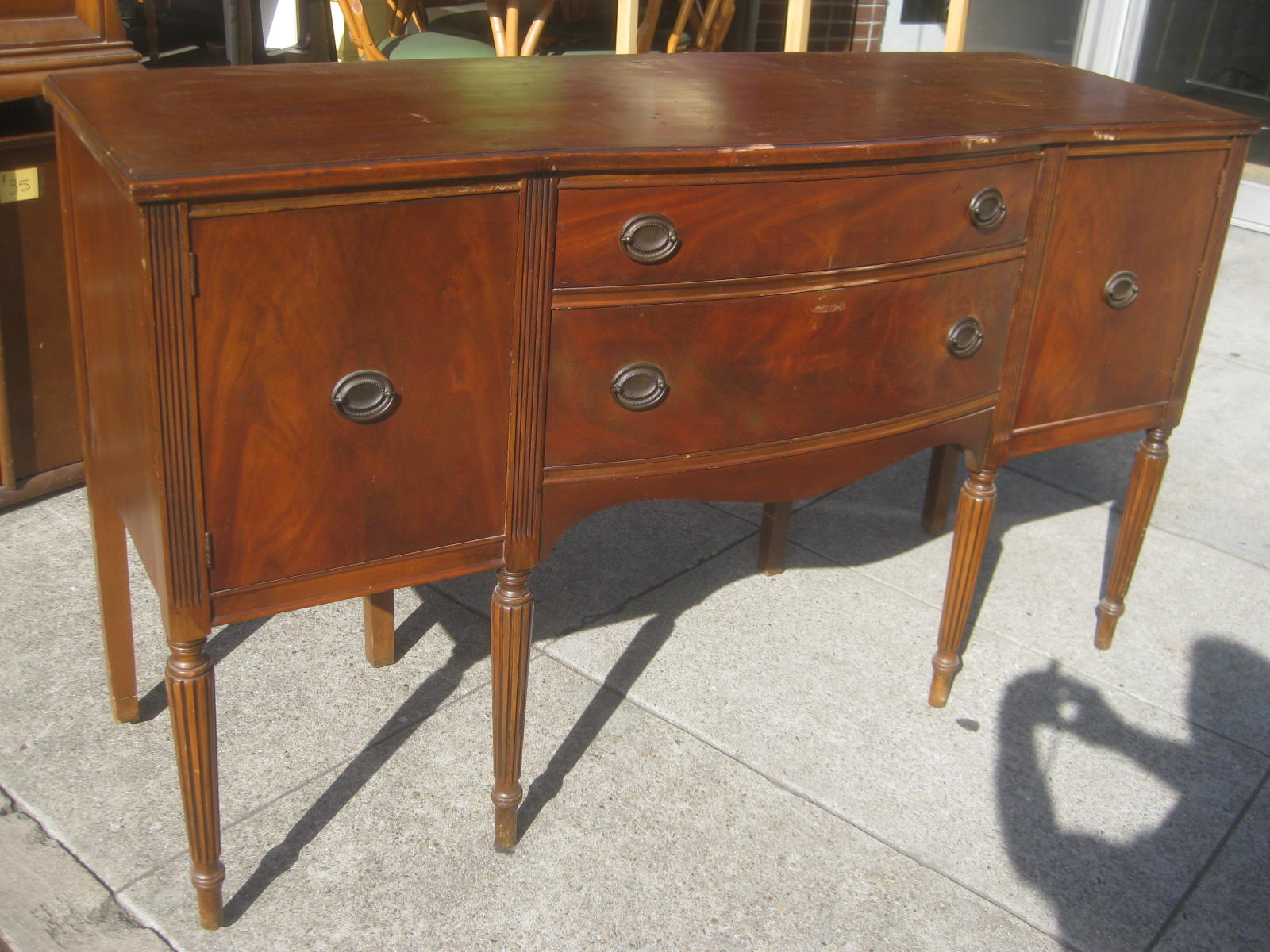 Uhuru Furniture Collectibles Sold Duncan Phyfe Buffet 100
