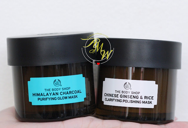 a photo of The Body Shop Himalayan Charcoal and Chinese Ginseng & Rice
