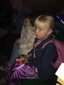 Toddlers watching Disney on Ice in Newcastle
