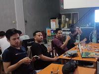 Pada Nobar Capres ke-4, DPC Partai Garuda Gowa Ajak Milenial Jadi Saksi di TPS