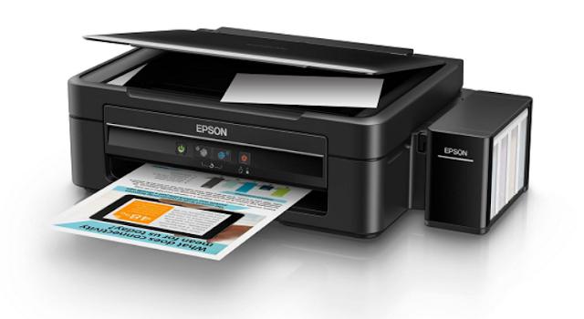 Cara Servis Epson L110, L120, L300, L210, L220, L350 dan L355 Hasil Print Kosong