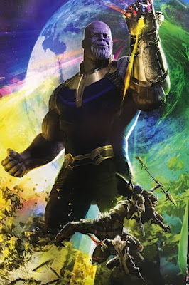 San Diego Comic-Con 2017 Exclusive Avengers Infinity War Concept Art Movie Poster #2 by Ryan Meinerding