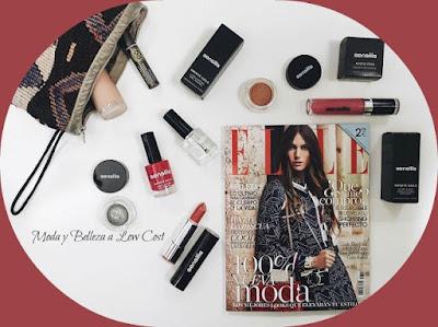 regalo de maquillaje con la revista Elle Pocket de Marzo