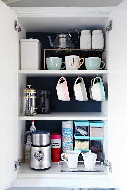 IHeart Organizing Organized Coffee Cabinet