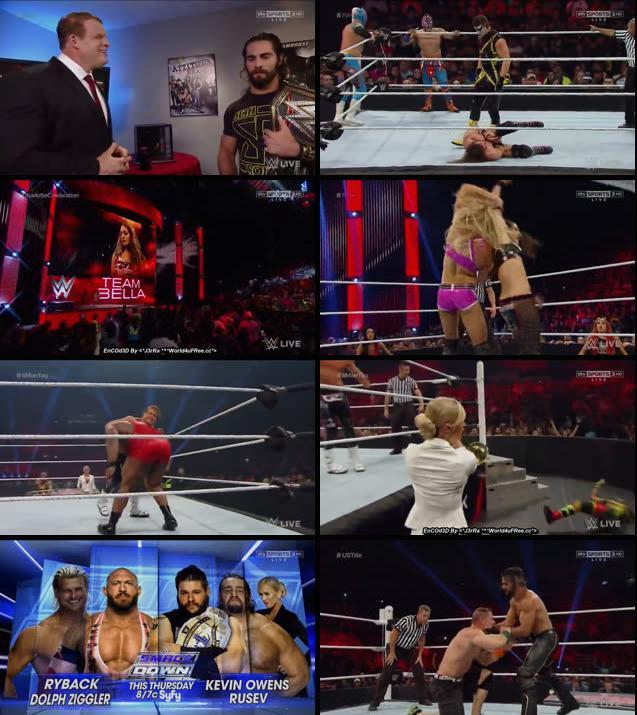 WWE Monday Night RAW 21 Sep 2015 HDTV 480p