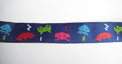 space invader ribbon