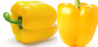 Food Diet tips for healthy skin Yellow Pepper  for healthy glowing skin